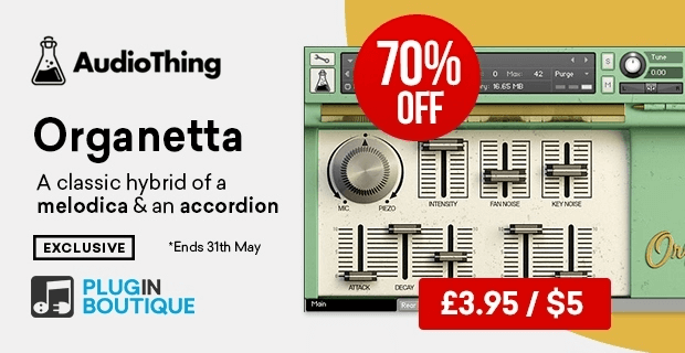 AudioThing Organetta 70% off