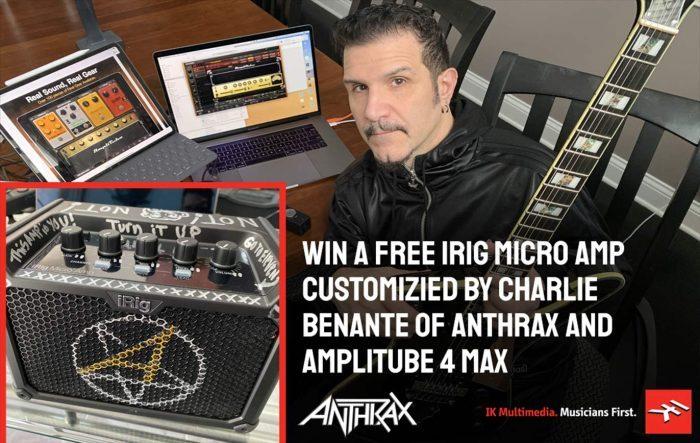 IK Multimedia Anthrax Loudwire