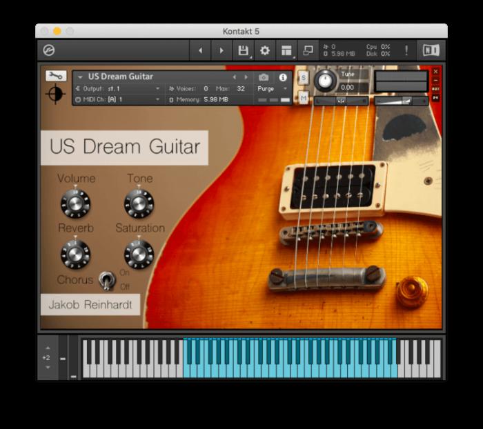 Jakob Reinhardt US Dream Guitar