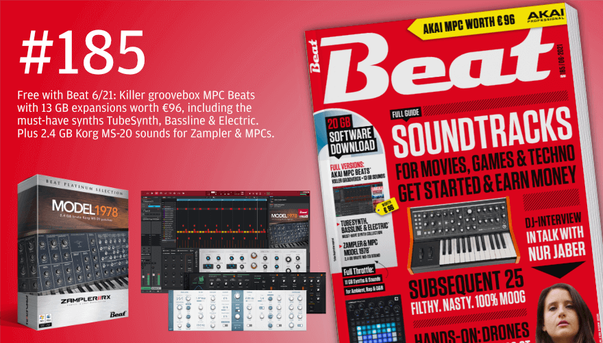 Beat 6/21 includes Akai MPC with expansions and Fundamental Bass