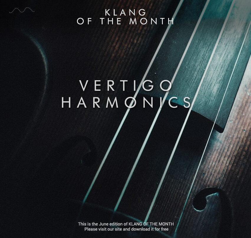Cinematique Instruments releases free Klang series Vertigo Harmonics for Kontakt
