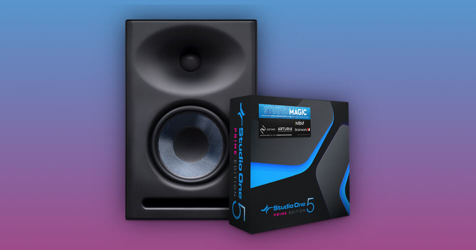 PreSonus studio monitors now bundled with extensive software suite