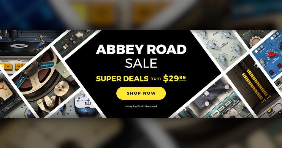 Waves Audio launches Abbey Road Sale: Plugins from $29.99 USD
